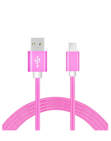 Picture of AMPD Volt 6FT Micro USB Cable, Pink