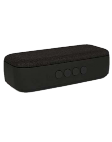 Picture of AMPD Fabric 6 Watt Bluetooth Speaker,  Black