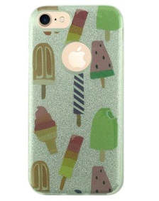 Picture of AMPD Sticker Glitter Design Series for iPhone 6, Ice Cream Cones