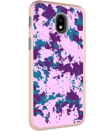 Picture of AMPD Dual Protection Slim Design Series for Samsung Galaxy J3 Achieve, Purple Paint