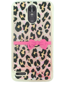 Picture of AMPD Liquid Glitter Design Series for LG Stylo 3, Cheetah Print