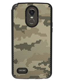 Picture of AMPD Dual Protection Slim Design Series for LG Stylo 3, Honeycomb Camo