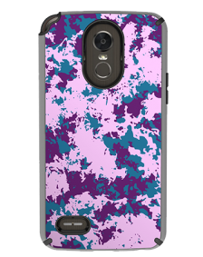 Picture of AMPD Dual Protection Slim Design Series for LG Stylo 3, Purple Paint