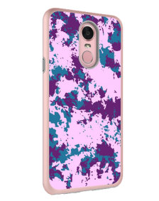 Picture of AMPD Liquid Glitter Design Series for LG Stylo 4, Purple Paint