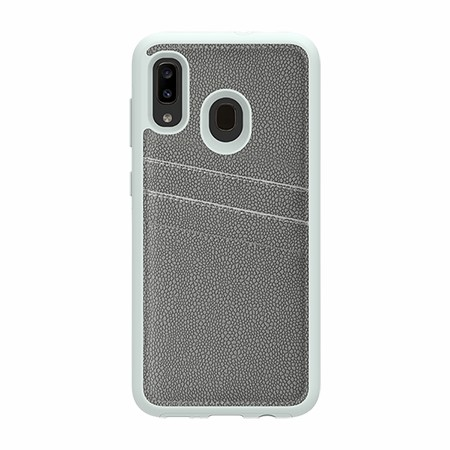 Picture of Alpha Series Case for Samsung A20, Light Grey