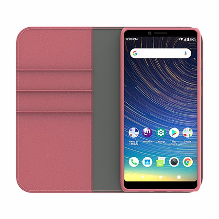 Picture of B-Folio Executive Leather Case for Coolpad Legacy, Pink