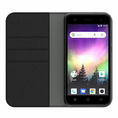 Picture of B-Folio Executive Leather Case for Coolpad Legacy Go, Black