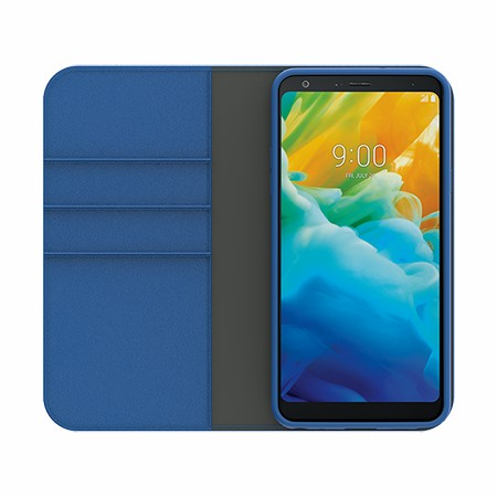 Picture of B-Folio Executive Leather Case for LG Stylo 5, Blue