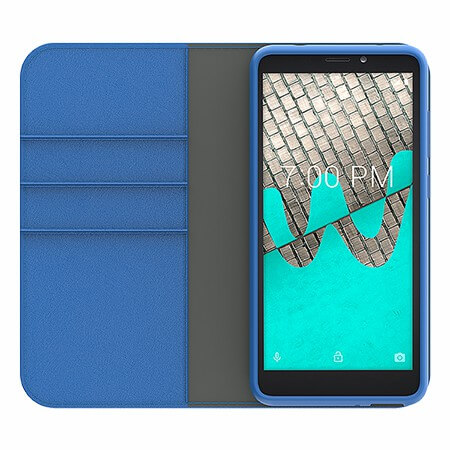 Picture of B-Folio Executive Leather Case for Wiko Ride, Blue