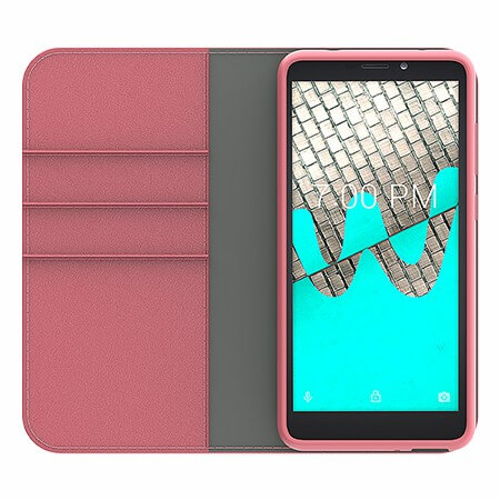 Picture of B-Folio Executive Leather Case for Wiko Ride, Pink