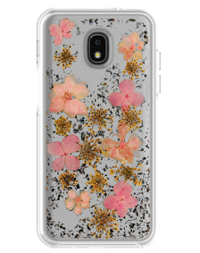 Picture of Botanic Series Case for Samsung Galaxy J3 Achieve, Pink