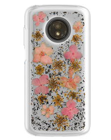 Picture of Botanic Series Case for Motorola Moto E5 Play, Pink