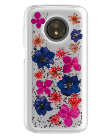 Picture of Botanic Series Case for Motorola Moto E5 Play, Purple