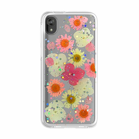 Picture of Botanic Series Case for Moto E6 Play, Playful Pink