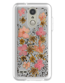 Picture of Botanic Series Case for LG Tribute Dynasty, Pink