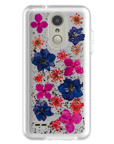Picture of Botanic Series Case for LG Tribute Dynasty, Purple