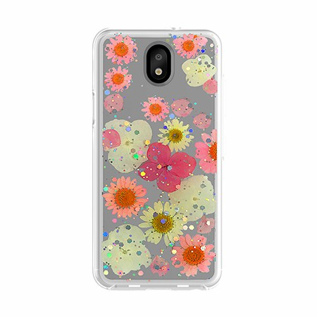 Picture of Botanic Series Case for LG Tribute Royal, Playful Pink