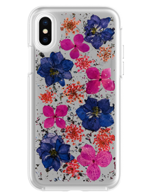 Picture of Botanic Series Case for Apple iPhone X/XS, Purple