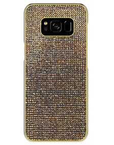 Picture of Brilliant Series Case for Samsung Galaxy S8, Gold Rhinestones