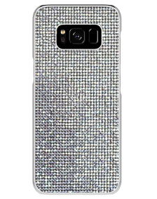 Picture of Brilliant Series Case for Samsung Galaxy S8, White Rhinestones