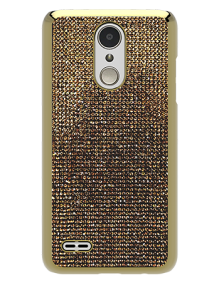Picture of Brilliant Series Case for LG Tribute Dynasty, Gold Rhinestones