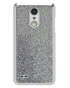 Picture of Brilliant Series Case for LG Tribute Dynasty, White Rhinestones