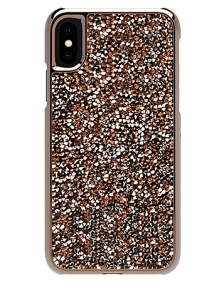 Picture of Apple iPhone X/XS Brilliant Series Case, Rose Gold Collection