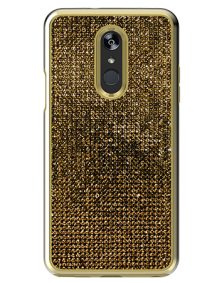 Picture of LG Stylo 4/4+ Brilliant Plus Series Case, Gold Rhinestones