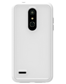 Picture of LG K30 B-Tact Case, White & Grey