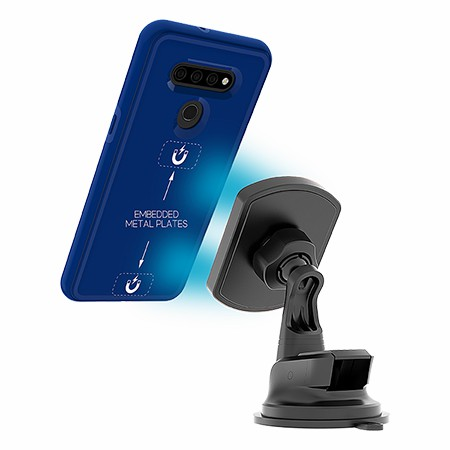 Picture of B-Tact Mag Case for LG K51, Reflex Blue