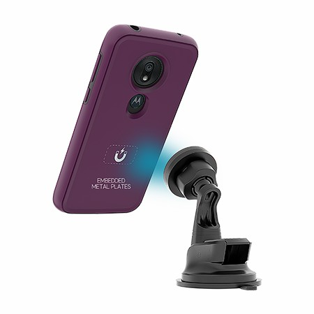 Picture of B-Tact Mag Case for Moto G7 Play, Purple