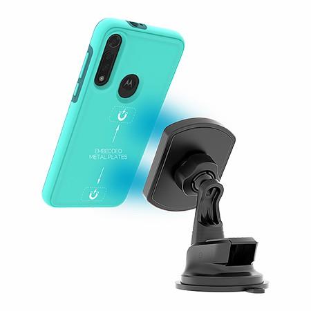 Picture of B-Tact Mag Case for Moto G8 Fast, Teal
