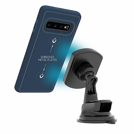 Picture of B-Tact Mag Case for Samsung Galaxy S10, Blue