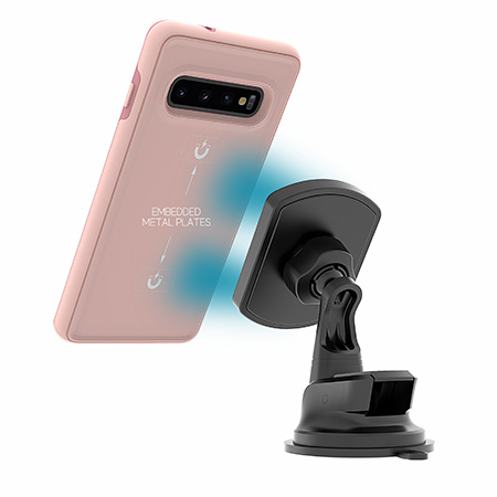 Picture of B-Tact Mag Case for Samsung Galaxy S10, Soft Pink