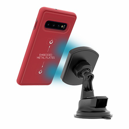 Picture of B-Tact Mag Case for Samsung Galaxy S10+, Red