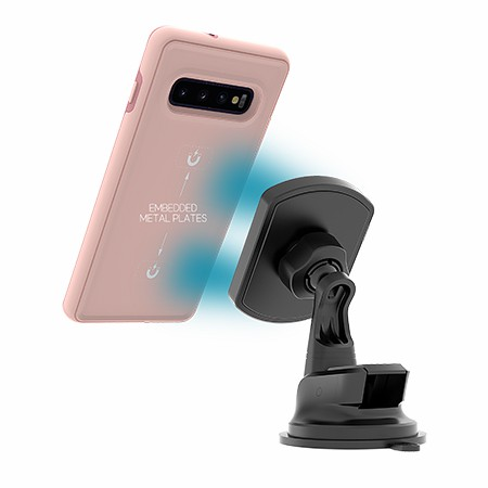 Picture of B-Tact Mag Case for Samsung Galaxy S10+, Soft Pink