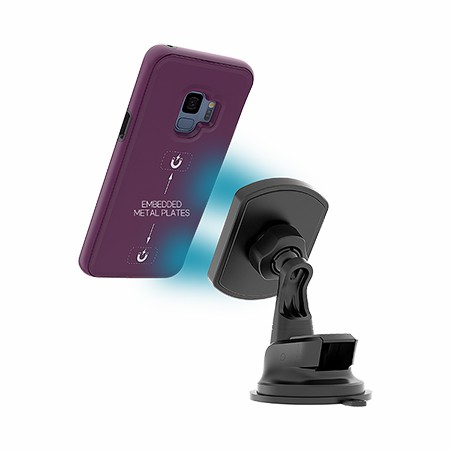 Picture of B-Tact Mag Case for Samsung Galaxy S9, Purple