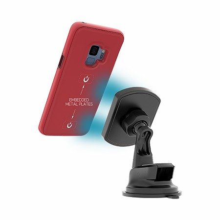 Picture of B-Tact Mag Case for Samsung Galaxy S9, Red