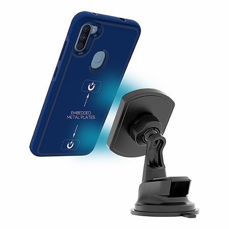 Picture of B-Tact Mag Case for Samsung A11, Reflex Blue