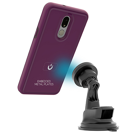 Picture of B-Tact Mag Case for LG Stylo 5, Purple