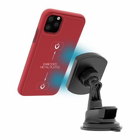Picture of B-Tact Mag Case for iPhone 11 Pro Max, Red