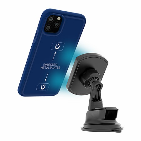 Picture of B-Tact Mag Case for iPhone 11 Pro Max, Reflex Blue