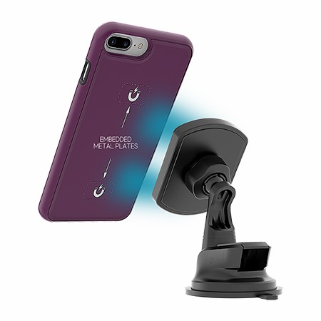 Picture of B-Tact Mag Case for Apple iPhone 6/7/8 Plus, Purple