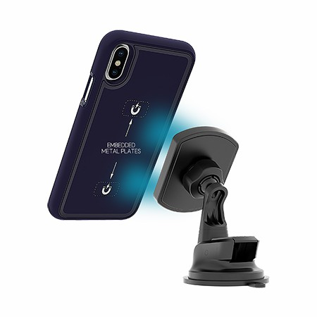 Picture of B-Tact Mag Case for Apple iPhone X/Xs, Dark Blue