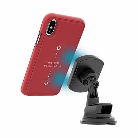 Picture of B-Tact Mag Case for Apple iPhone X/Xs, Red
