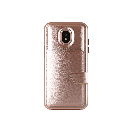 Picture of Compact Mirror Series for Samsung J3 Achieve, Rose Gold