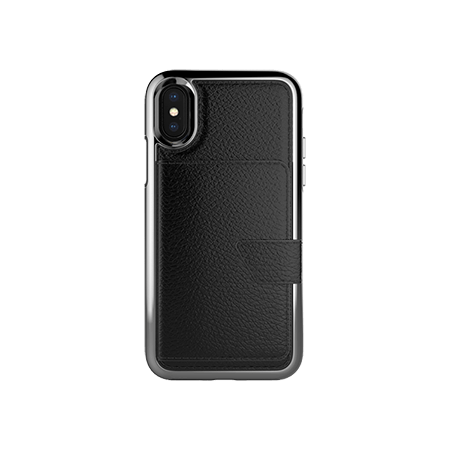 Picture of Compact Mirror Series for Apple iPhone X/Xs, Black Leather