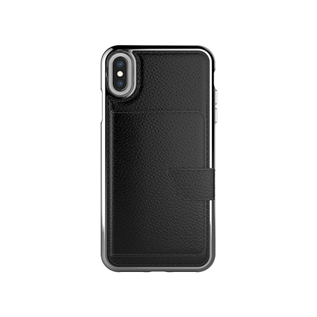 Picture of Compact Mirror Series for Apple iPhone Xs Max, Black Leather