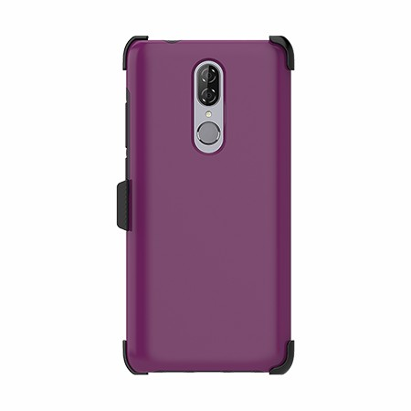Picture of SYB Dual Shield Case w Holster for Coolpad Legacy, Purple