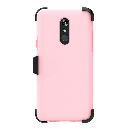 Picture of SYB Dual shield  w Holster for LG Stylo 4/4+, Pink
